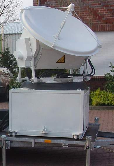 Scanning meteorological ka-band polarimetric radar